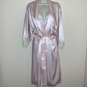 CHRISTIAN DIOR || vintage night gown set Large